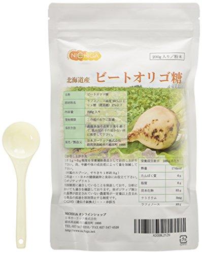 天然ビートオリゴ糖 200g [01] (ラフィノース)北海道産 NICHIGA(ニチガ)