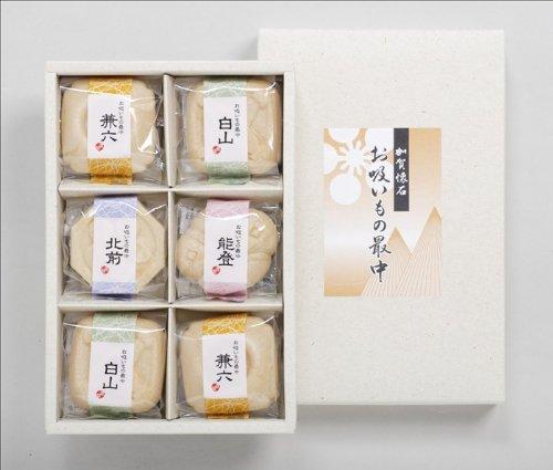 加賀懐石お吸い物最中6個入り【内祝い・引き出物】