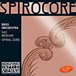 SPIROCORE スピロコア コントラバス弦セット 4/4サイズ ライトテンション(weich)
