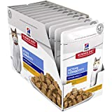 Hill's Science Diet Adult 7+ Wet Cat Food, Active Longevity Chicken Cat Food Pouches, 85g, 12 Pack