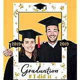 卒業写真ブース小道具フレーム 2019 - 卒業パーティー用品 デコレーション 2 in 1
