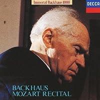 Mozart Recital by Wilhelm Bachhaus