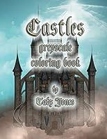 Castles Greyscale Coloring Book