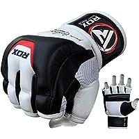 RDZG244 RDX カウハイドレザー製 グラップリンググローブ 各種サイズ MMA 格闘技 トレーニング [並行輸入品]