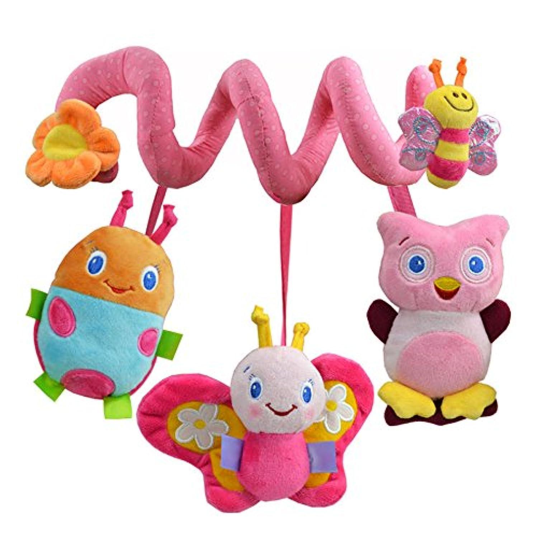 Sozzy動物Bee Baby Rattle Toy