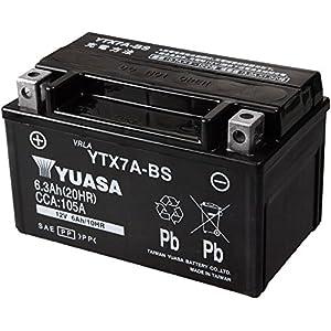 TAIWAN YUASA [ 台湾ユアサ ] シールド型 バイク用バッテリー YTX7A-BS