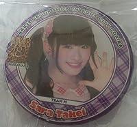 AKB48 CAFE&SHOP お台場 Aqua City 秋葉原 ショップ購入特典 缶バッチ 武井 紗良
