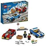 LEGO City Police 60242 Police Highway Arrest Building Kit (185 Pieces)