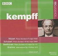 William Kempff Plays Piano Sonatas by Mozart (2007-01-16)