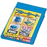アイリスオーヤマ ブルーシート #3000 厚手 防水仕様 サビに強い 2.7m×2.7m ハトメ数12