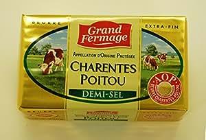 フランス産発酵バター A.O.C.ドゥミセル(有塩バター)250g
