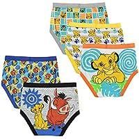 Disney Boys BUP2715 Lion King 5 Pack Boys Brief Briefs - Multi