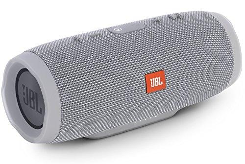 JBL CHARGE3 Bluetoothスピーカー IPX7防水/ポータブル/パッシブラジエーター搭載 グレイ JBLCHARGE3GRAYJN 国内正規品