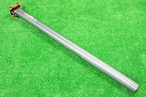 OTA CNC ダホン 小径車用 軽量 シートポスト Φ33.9/600mm Gr チタングレー 自転車パーツ
