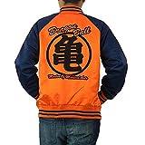 スカジャン メンズ ドラゴンボール グッズ カプセルコーポレーション 刺繍 服 サテン GRE1502 LL 亀仙人オレンジ