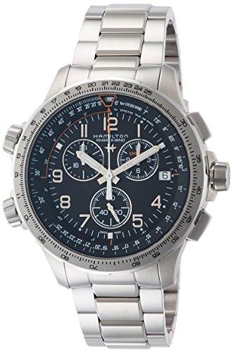 [ハミルトン]HAMILTON 腕時計 カーキ X-ウィンド GMT クロノグラフ H77912135 メンズ 【正規輸入品】