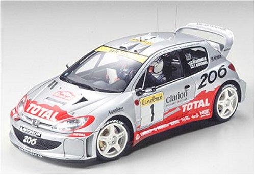 1/24 スポーツカーシリーズ プジョー206 WRC 2001