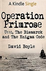 Operation Primrose: U110, the Bismarck and the Enigma Code
