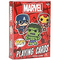 Marvel Comics Funko POP Playing Cards