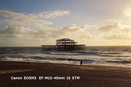 Canonミラーレス一眼カメラEOSM3レンズキット(ブラック)EF-M15-45mmF3.5-6.3ISSTM付属EOSM3BK-1545ISSTMLK