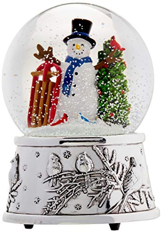 Reed & Barton Snowmen & Sleigh – Snowglobe