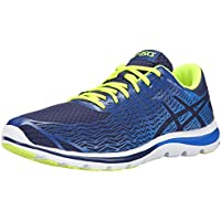 Asics Gel-Super J33 2 Mens Premium Sports Shoes - Size: 10 US Or 28 cm - Color Indigo Blue/Flash Yellow