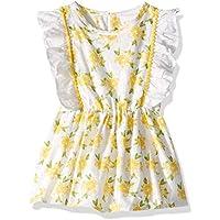 Masala Baby Baby Girls Fantasia Dress Lemon Blossom