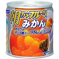 はごろも 朝からフルーツ みかん 190g (4080)×6個