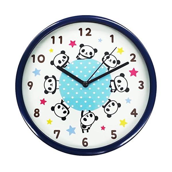 ツイン 掛け時計 パンダ L JT011の商品画像