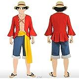 コスプレ 衣装 麦わら 海賊 コスチューム 仮装 フリーサイズ cos1039
