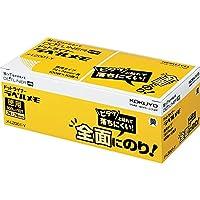コクヨ 付箋 全面粘着 ドットライナー ラベル 黄色 74・74mm 100枚 10個入 メ-L2001-Y