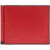 (ヴァレクストラ) VALEXTRA メンズ 二つ折り財布 マネークリップ付 GRIP 6CC HOLDER V0L80 028 [並行輸入品]