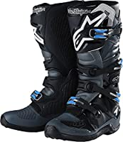 Alpinestars TLD Tech 7 boots-black / gray-12
