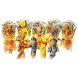 [RusToy] 6ピースランダムディズニーくまのプーさんおもしろおじさんの殻からの驚きの卵 Disney Winnie the Pooh