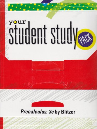Download Precalculus Student Study Guide-SA 0132268973