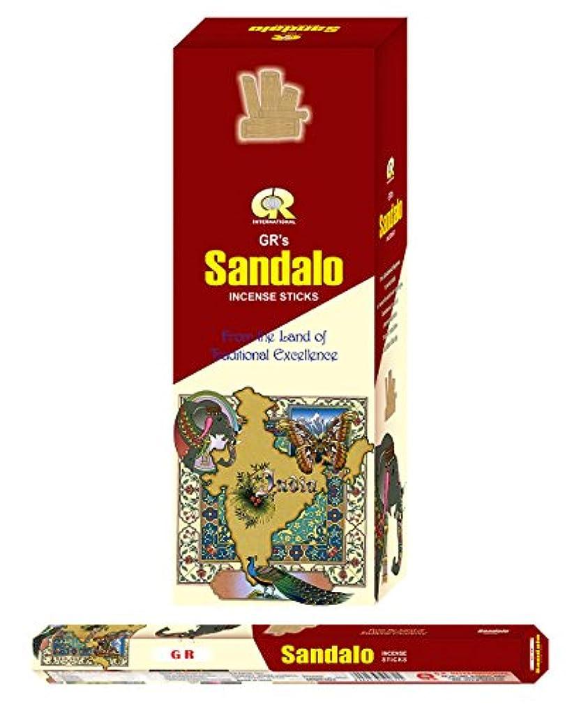 水素配当気づくなるSandalo incense-120 Sticks