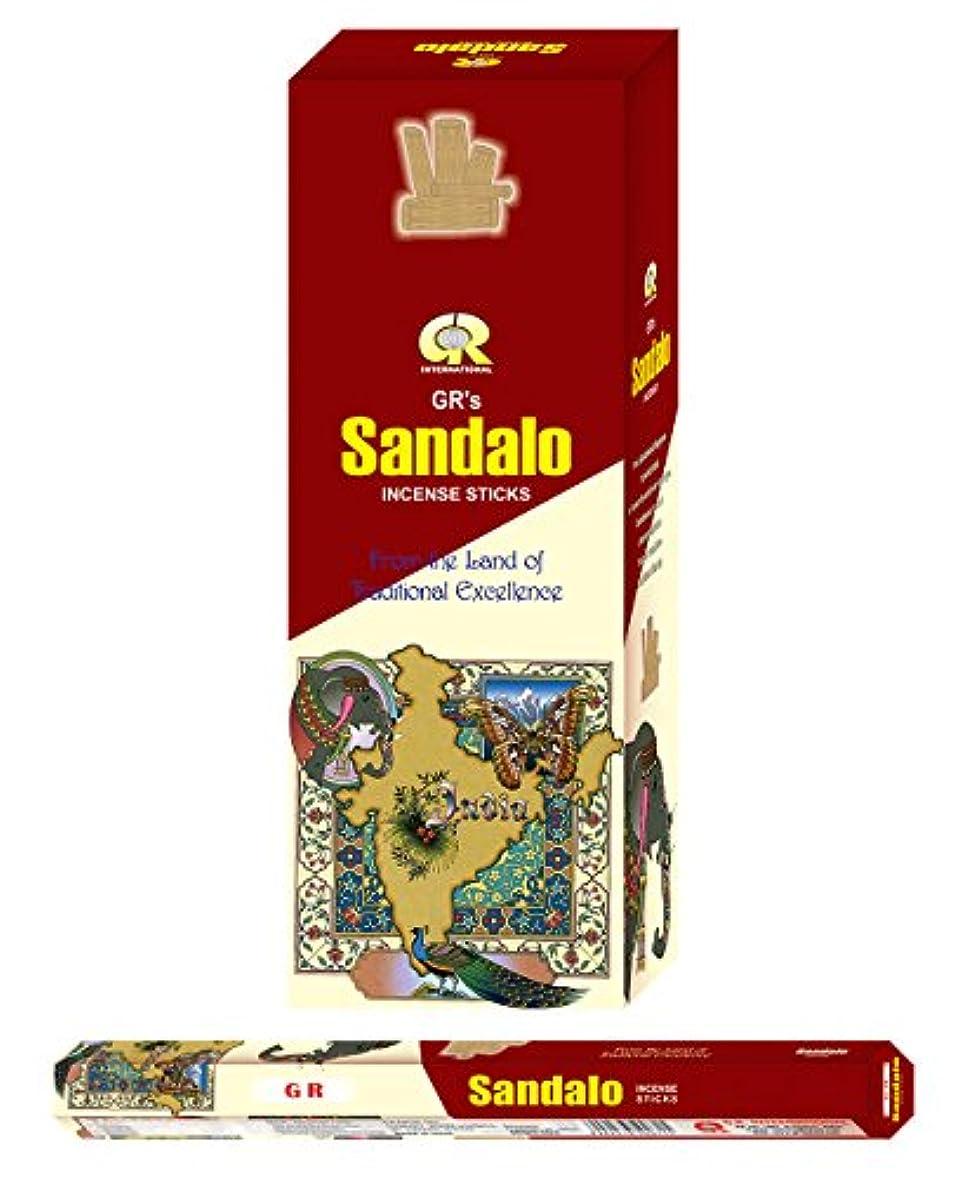 内なる目立つ複雑なSandalo incense-120 Sticks