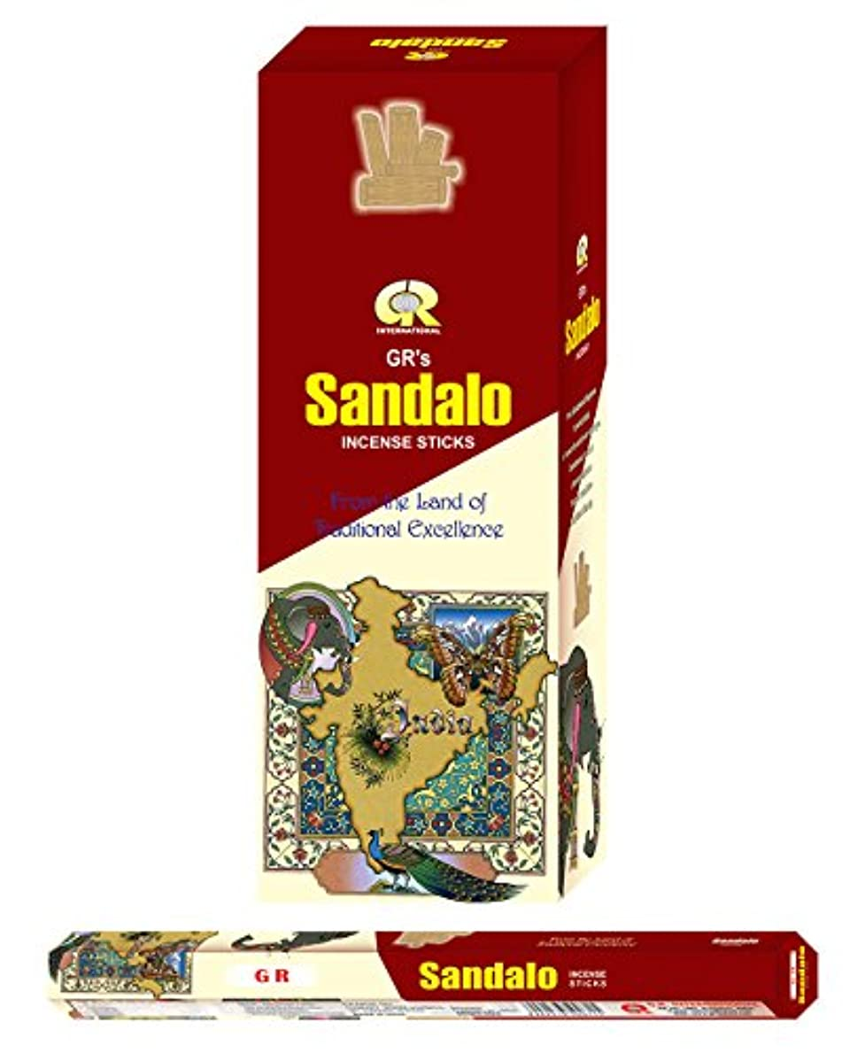 葡萄宗教スペアSandalo incense-120 Sticks