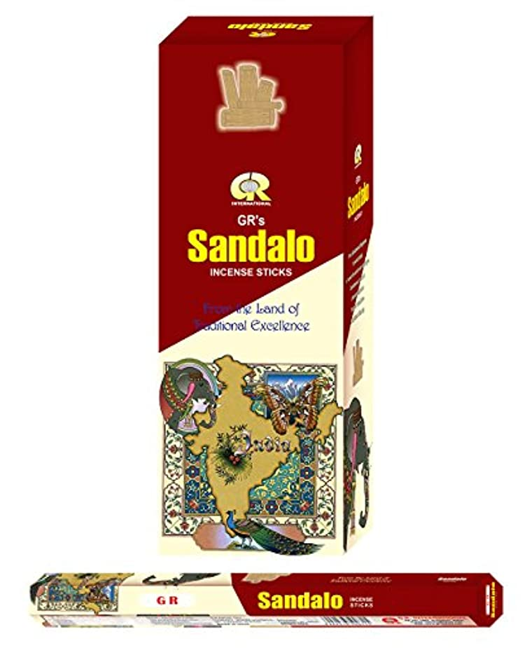 債務降雨平らなSandalo incense-120 Sticks
