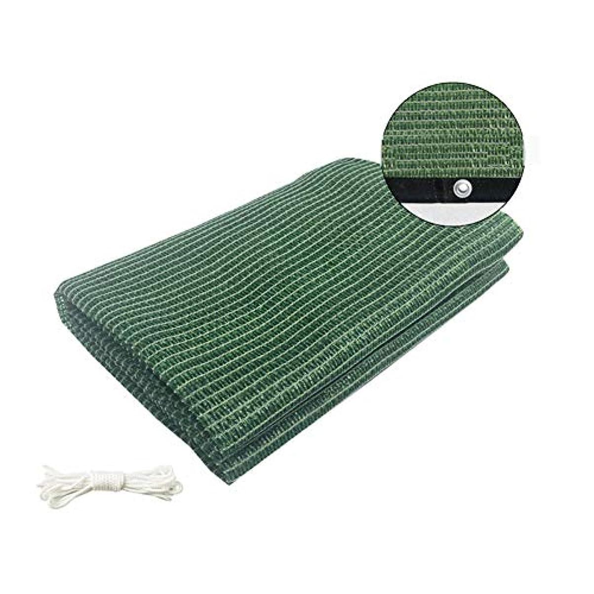曲トレイクックZHANWEI オーニング シェード遮光ネット 夏 園芸 工場 フラワーズ 日よけ布 100g /㎡、 2色 (Color : Green, Size : 2X1.8M)