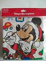 ディズニーリゾート クリスマスファンタジー2013 ウォッシュタオル ミッキー チップ&デール
