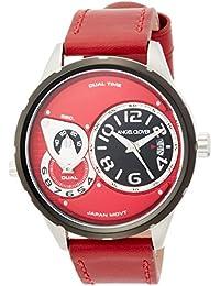 [エンジェルクローバー]AngelClover 腕時計 Duel レッド文字盤 DU47BRE-RE メンズ