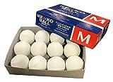 予約販売 ナガセケンコー M号 新規格公認試合球 (一般・中学生用) 1ダース