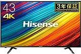 ハイセンス 43V型 4K対応 液晶 テレビ HJ43N3000