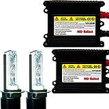 Unipower Electronics HIDコンバージョンキット H3ショートバルブ(バルブ長:34mm) 35W 6000K 【1年保証】【Unipower S007+Cnlight ショートバルブ モデル】【ゴールドリーフ オリジナル】