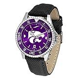 Kansas State Wildcats競合他社Anochromeメンズ腕時計–カラーベゼル
