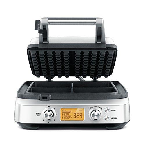Breville The Smart Waffle®, Silver BWM640BSS