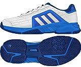 アディダス コート adidas(アディダス) オールコート用 テニスシューズ 27.0cm Barricade Court 2 バリケード コート 2 AF6783 ホワイト/ソーラーブルー 国内正規品