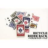 バイスクル BICYCLE トランプ ライダーバック 赤 1ダース(12個入)