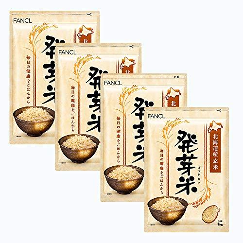 新ファンケル(FANCL) 発芽米 4kg 1箱(1kg×4袋)